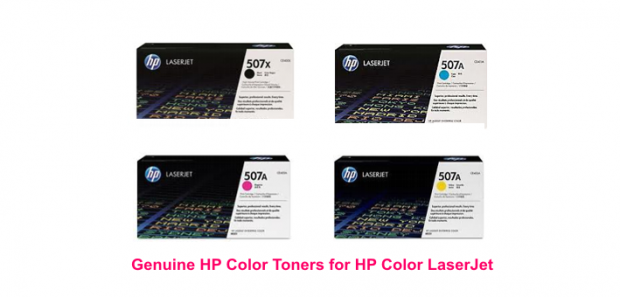 HP Genuine Color Toner