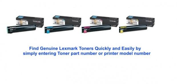 Lexmark Genuine Toner