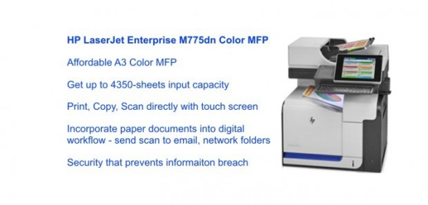 HP LaserjetJet Enterprise M775dn Color MFP