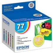 Epson 77 High Yield multi-pack Ink Cartridge T077920-S