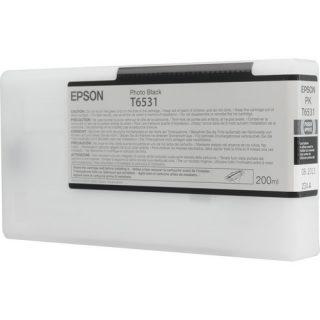 Epson T6531 Photo Black Ultrachrome Ink Cartridge