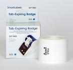 Seiko 3 inch Tab Expiring Labels SLP-TAB3