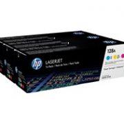 HP 128A CMY 3-Pack Toner CF371A
