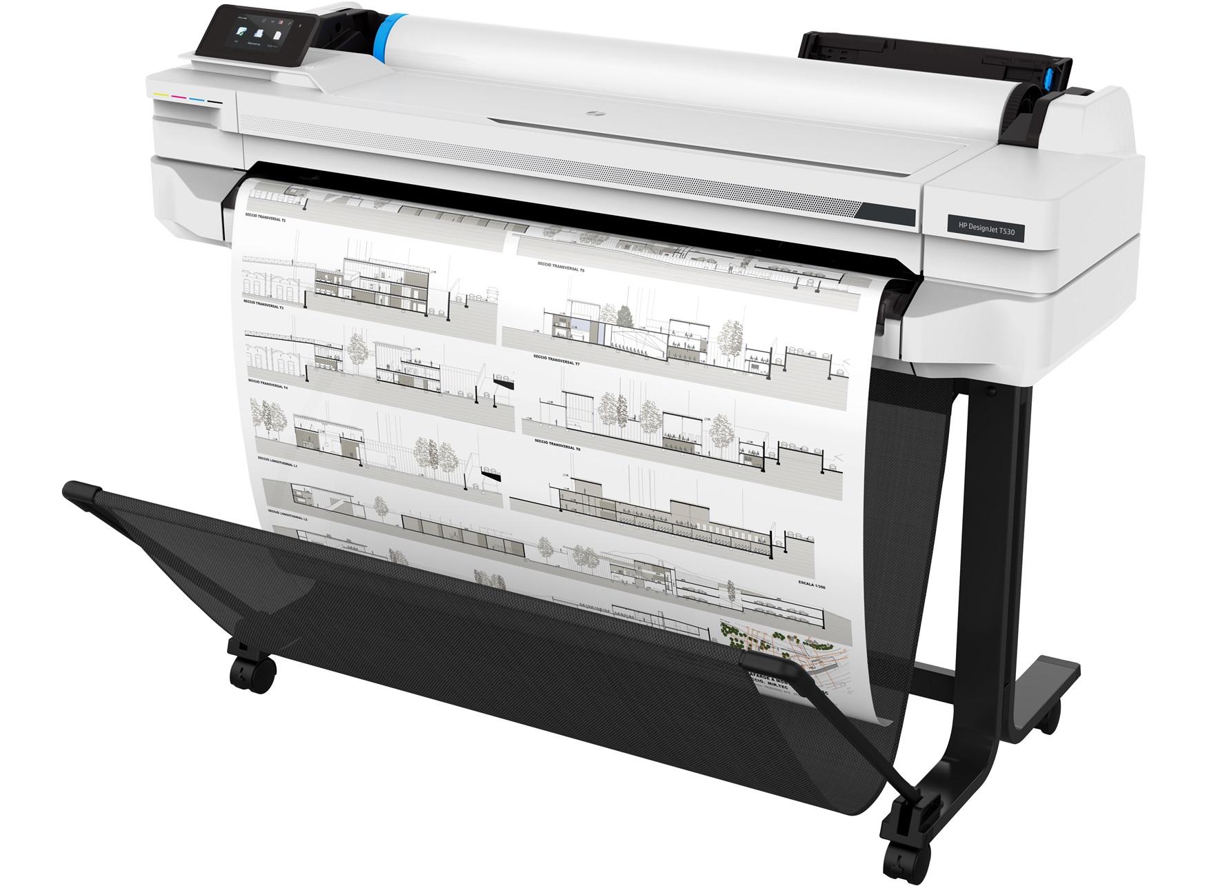 HP Designjet T530 36 inch printer