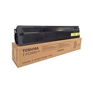 Toshiba T-FC505U-Y Yellow Toner